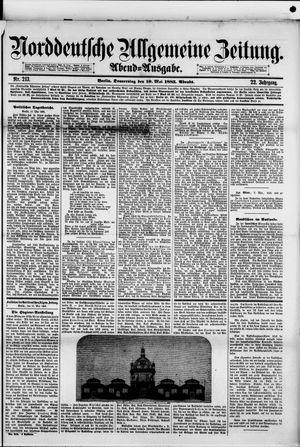 Norddeutsche allgemeine Zeitung vom 10.05.1883