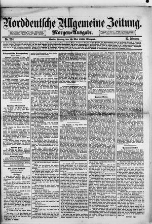 Norddeutsche allgemeine Zeitung vom 18.05.1883