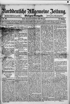 Norddeutsche allgemeine Zeitung vom 19.05.1883