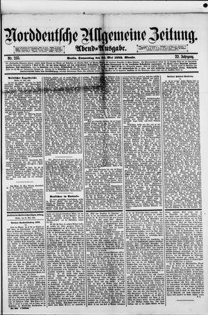 Norddeutsche allgemeine Zeitung vom 24.05.1883