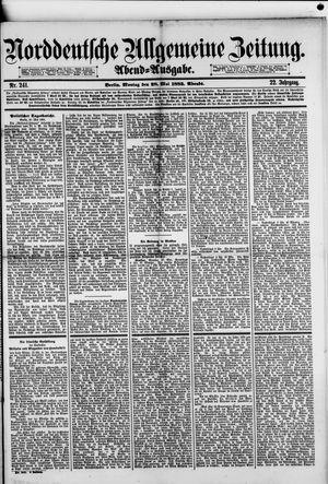 Norddeutsche allgemeine Zeitung vom 28.05.1883