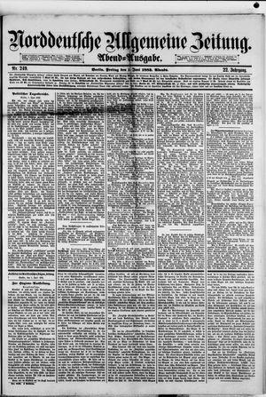 Norddeutsche allgemeine Zeitung vom 01.06.1883