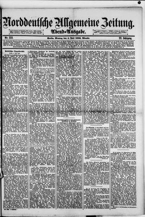 Norddeutsche allgemeine Zeitung on Jun 4, 1883