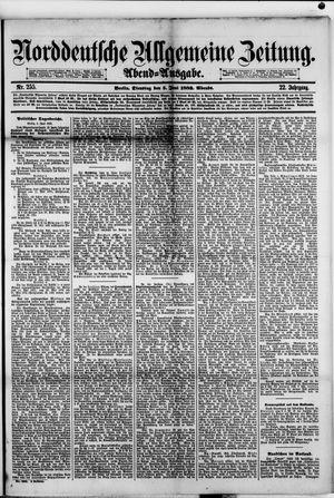 Norddeutsche allgemeine Zeitung vom 05.06.1883