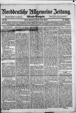 Norddeutsche allgemeine Zeitung vom 06.06.1883