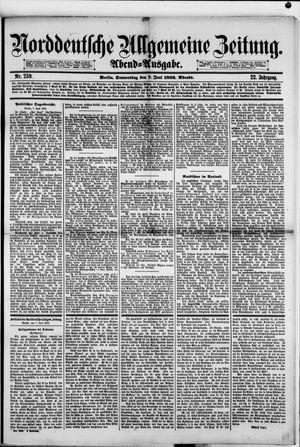 Norddeutsche allgemeine Zeitung vom 07.06.1883