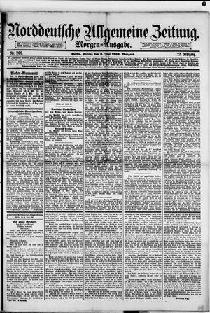 Norddeutsche allgemeine Zeitung vom 08.06.1883