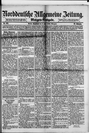 Norddeutsche allgemeine Zeitung vom 09.06.1883