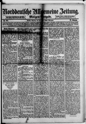 Norddeutsche allgemeine Zeitung vom 10.06.1883