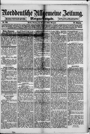 Norddeutsche allgemeine Zeitung vom 12.06.1883