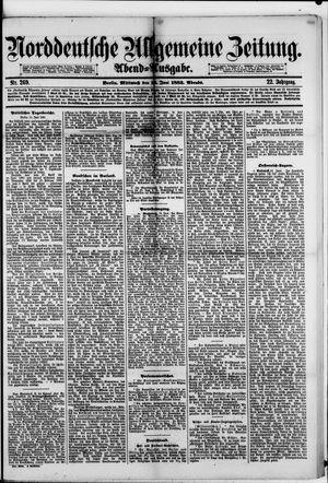Norddeutsche allgemeine Zeitung on Jun 13, 1883