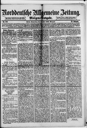 Norddeutsche allgemeine Zeitung vom 14.06.1883