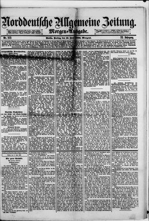 Norddeutsche allgemeine Zeitung vom 15.06.1883