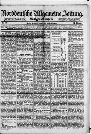 Norddeutsche allgemeine Zeitung vom 16.06.1883
