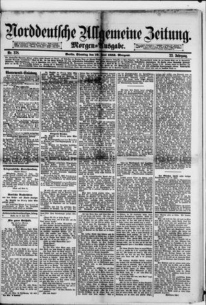 Norddeutsche allgemeine Zeitung vom 19.06.1883