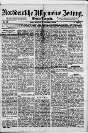 Norddeutsche allgemeine Zeitung vom 22.06.1883