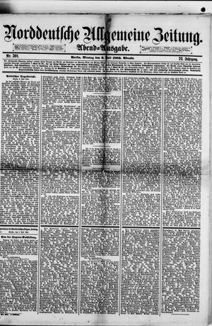 Norddeutsche allgemeine Zeitung vom 02.07.1883