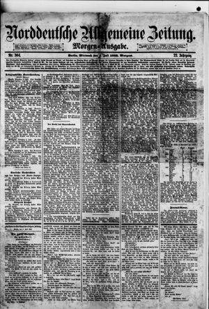 Norddeutsche allgemeine Zeitung vom 04.07.1883