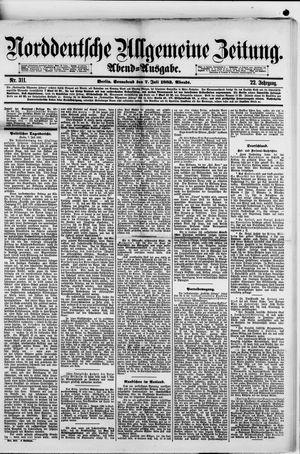 Norddeutsche allgemeine Zeitung vom 07.07.1883