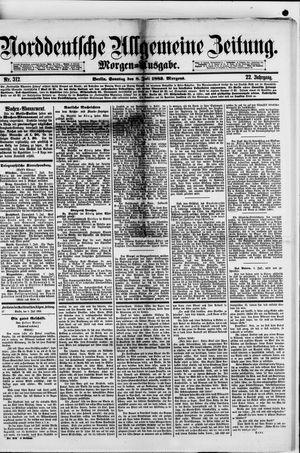 Norddeutsche allgemeine Zeitung vom 08.07.1883