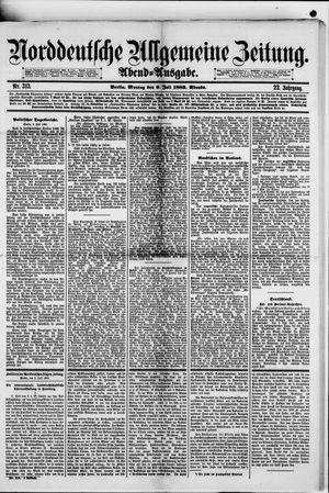 Norddeutsche allgemeine Zeitung on Jul 9, 1883