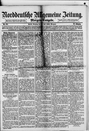 Norddeutsche allgemeine Zeitung on Jul 10, 1883