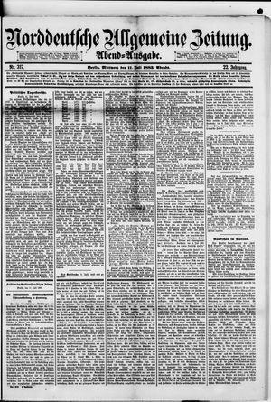Norddeutsche allgemeine Zeitung vom 11.07.1883