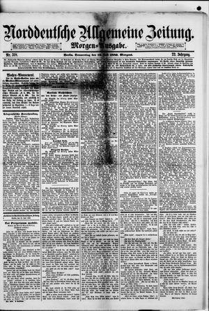 Norddeutsche allgemeine Zeitung vom 12.07.1883