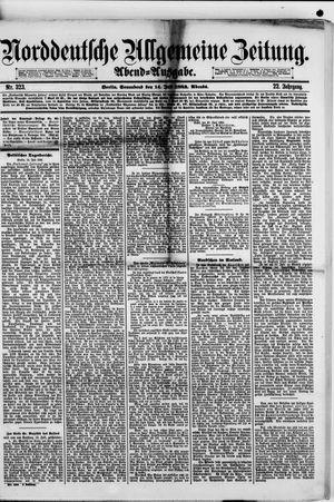 Norddeutsche allgemeine Zeitung vom 14.07.1883