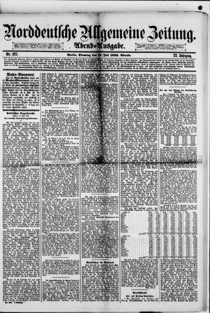 Norddeutsche allgemeine Zeitung vom 17.07.1883