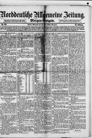Norddeutsche allgemeine Zeitung vom 18.07.1883