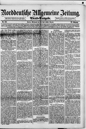 Norddeutsche allgemeine Zeitung vom 25.07.1883