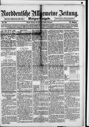 Norddeutsche allgemeine Zeitung on Jul 27, 1883