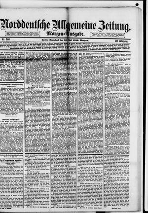 Norddeutsche allgemeine Zeitung vom 28.07.1883