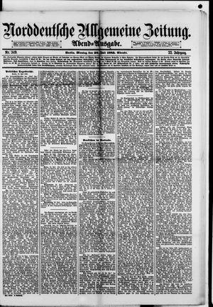 Norddeutsche allgemeine Zeitung vom 30.07.1883
