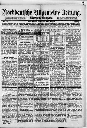 Norddeutsche allgemeine Zeitung on Jul 31, 1883