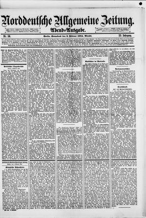 Norddeutsche allgemeine Zeitung vom 02.02.1884