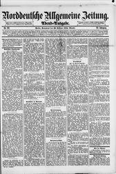 Norddeutsche allgemeine Zeitung (23.02.1884)