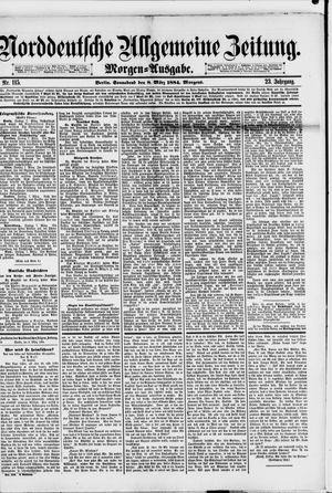 Norddeutsche allgemeine Zeitung vom 08.03.1884