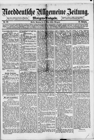 Norddeutsche allgemeine Zeitung vom 09.03.1884