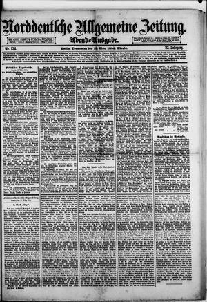 Norddeutsche allgemeine Zeitung on Mar 13, 1884