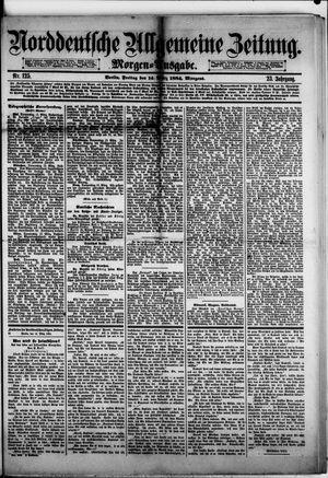 Norddeutsche allgemeine Zeitung vom 14.03.1884