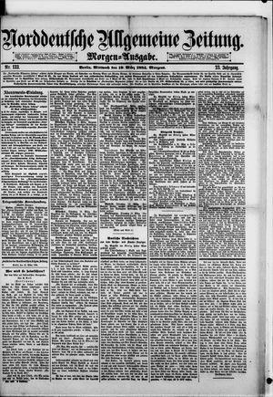 Norddeutsche allgemeine Zeitung vom 19.03.1884