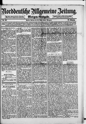 Norddeutsche allgemeine Zeitung vom 21.03.1884