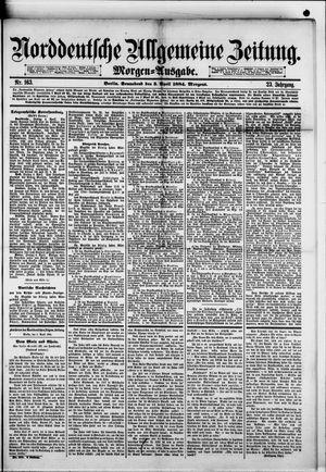 Norddeutsche allgemeine Zeitung on Apr 5, 1884