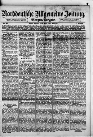 Norddeutsche allgemeine Zeitung vom 06.04.1884
