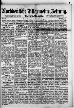Norddeutsche allgemeine Zeitung vom 08.04.1884