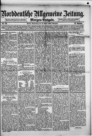 Norddeutsche allgemeine Zeitung vom 17.04.1884