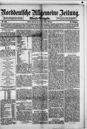 Norddeutsche allgemeine Zeitung vom 02.05.1884