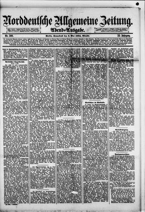 Norddeutsche allgemeine Zeitung vom 03.05.1884